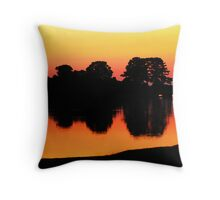 Natural Beauty Throw Pillow