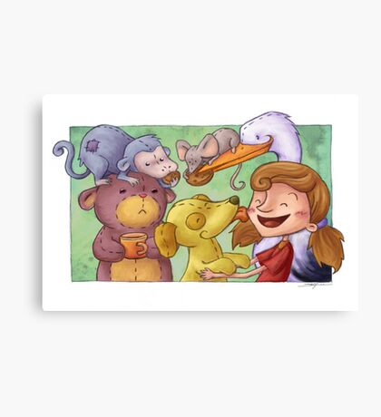 Party time! Canvas Print