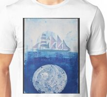 Lunar Reflection Unisex T-Shirt