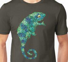 Chameleon Lizard Green Unisex T-Shirt