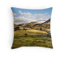 The Hartsop Valley - Cumbria Throw Pillow