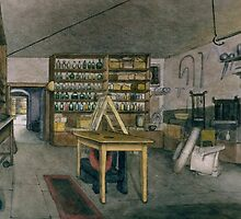 Faraday's Magnetic Laboratory by Bridgeman Art Library