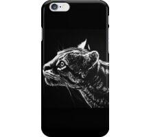 Ocelot Scratchboard iPhone Case/Skin