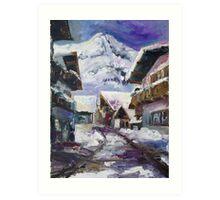 Schattberg, Austrian Alps Art Print