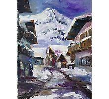 Schattberg, Austrian Alps Photographic Print