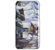 Schattberg, Austrian Alps iPhone Case/Skin
