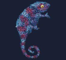 Chameleon Blue Kids Tee
