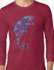 Chameleon Blue Long Sleeve T-Shirt