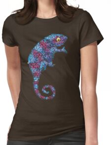 Chameleon Blue Womens Fitted T-Shirt