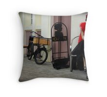 Relaxing Art Deco Style Throw Pillow