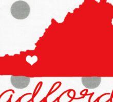 Radford University Dots Sticker