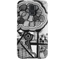 Up and Up BLK Samsung Galaxy Case/Skin