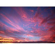 Pastel nights Photographic Print