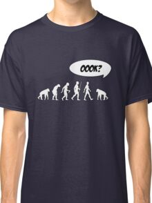 Evolution of Librarian Man Classic T-Shirt