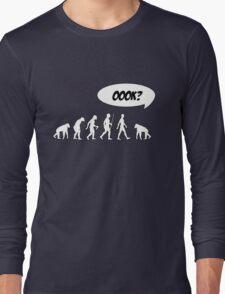 Evolution of Librarian Man Long Sleeve T-Shirt