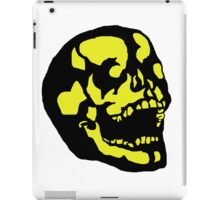 Yellow Skull iPad Case/Skin