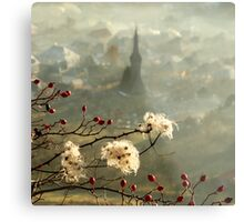 detail of a foggy morning... Metal Print