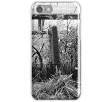 Rustic garden decoration iPhone Case/Skin