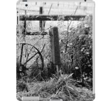 Rustic garden decoration iPad Case/Skin