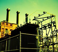Point Street Power Station by Paul Lavallee