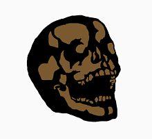 Brown Skull Unisex T-Shirt