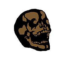 Brown Skull Photographic Print