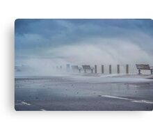Strong wind Canvas Print