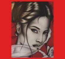 lady red by Bilistik Art