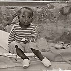 Little child in Venda by Cindy Coverly