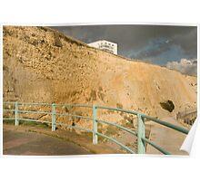 Marina cliffs Poster