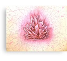 crystal healing  Canvas Print