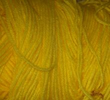 Yellow Yarn by pclark