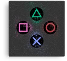 PS controller #2 Canvas Print
