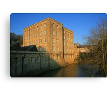 Abbey Mill Canvas Print