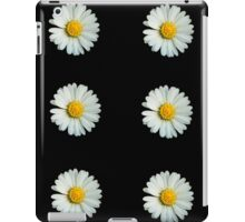 Six white daisies iPad Case/Skin