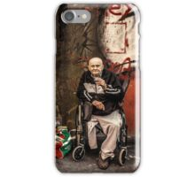Disabled person and rocking horse iPhone Case/Skin