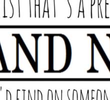 Brand New Sticker Sticker