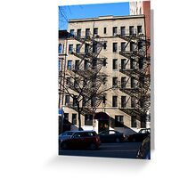 NY Apartments Greeting Card