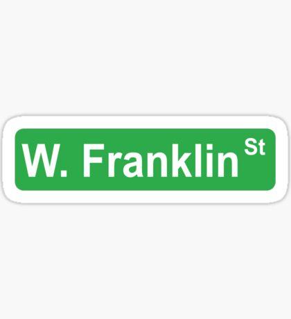 W. Franklin St Sticker