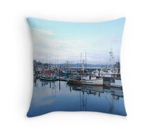 Newport Harbour Throw Pillow