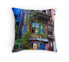 Cafe Cetinkaya - Istanbul Throw Pillow