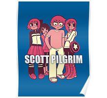 Scott Pilgrim odds & ends Poster