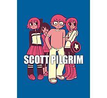 Scott Pilgrim odds & ends Photographic Print