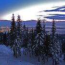 Vancouver sunset by ubumebme