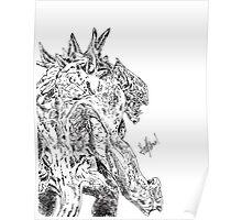 Evolve Goliath pen Poster