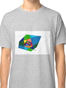 Stain Glass Hallway Classic T-Shirt