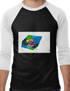 Stain Glass Hallway Men's Baseball ¾ T-Shirt