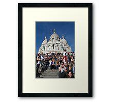 Sacre Coeur Faithful Framed Print