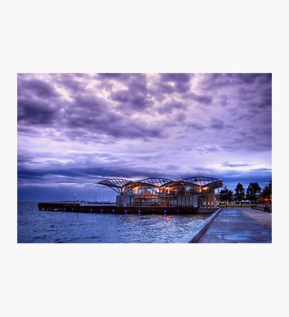 The Carousel at the Geelong Waterfront Photographic Print