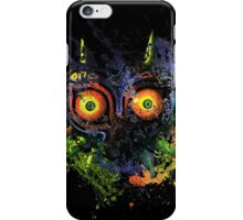 Majora's Mask Paint Splatter iPhone Case/Skin